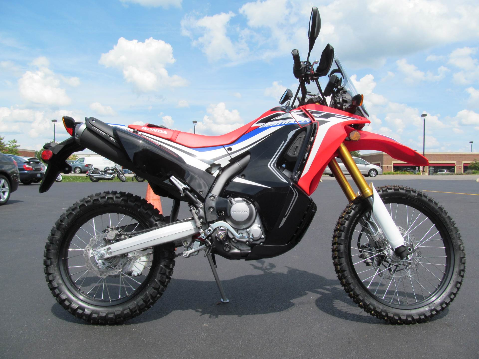 2017 Honda CRF250L Rally in Crystal Lake, Illinois