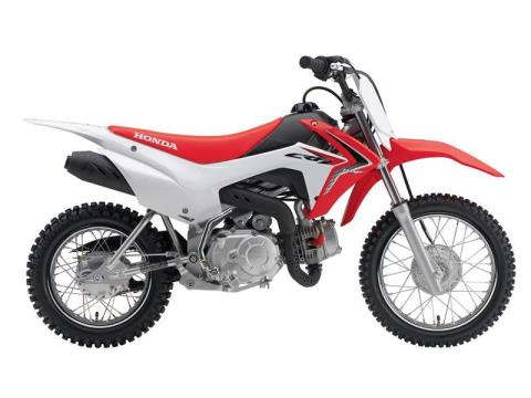 2016 Honda CRF110F in Crystal Lake, Illinois
