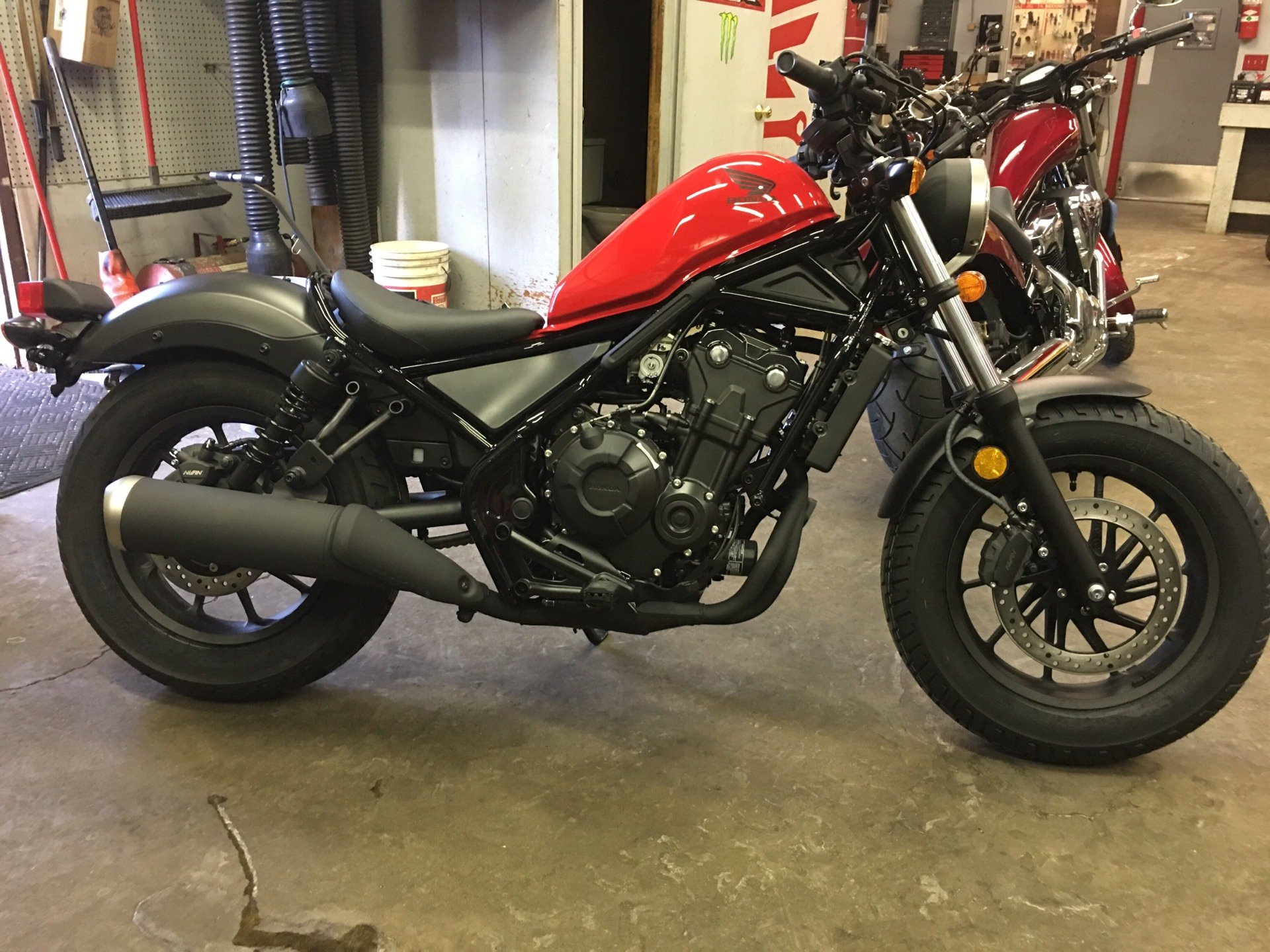 New 2018 Honda Rebel 500 Motorcycles In Crystal Lake Il Stock