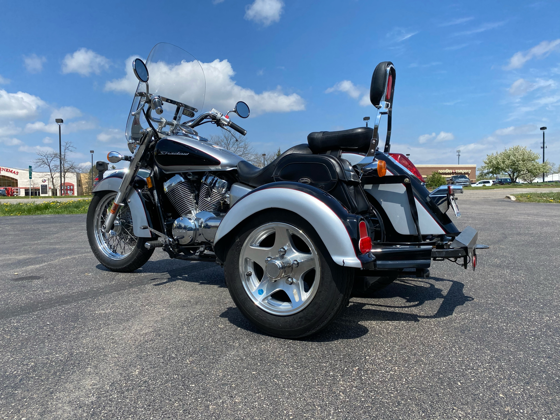 2008 Honda Shadow Aero® in Crystal Lake, Illinois - Photo 5