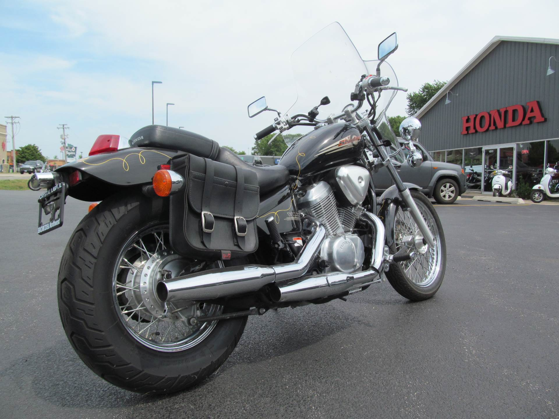 Used 1997 Honda Shadow Vlx Deluxe Motorcycles In Crystal Lake Il Fuel Filter Illinois