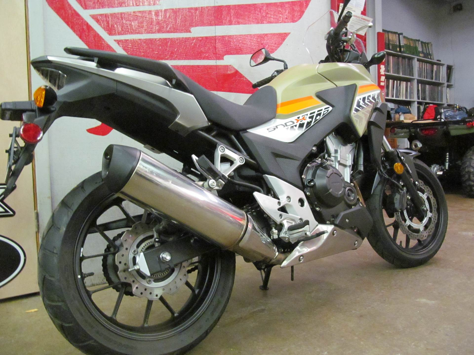 2016 Honda CB500X ABS in Crystal Lake, Illinois