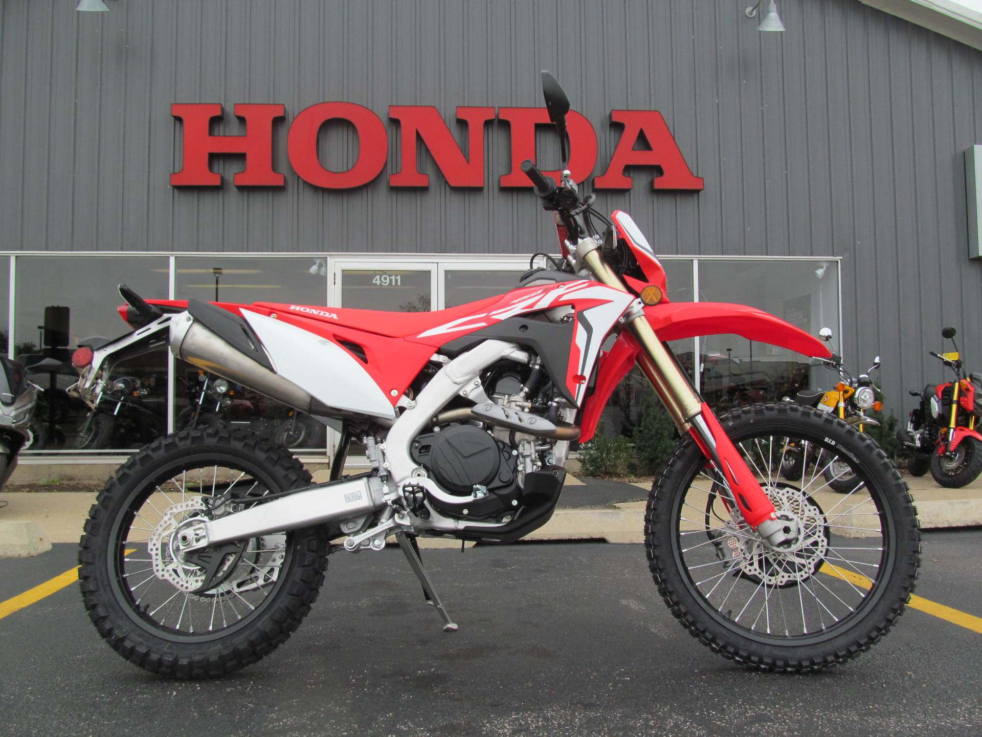 New 2019 Honda Crf450l Motorcycles In Crystal Lake Il Stock