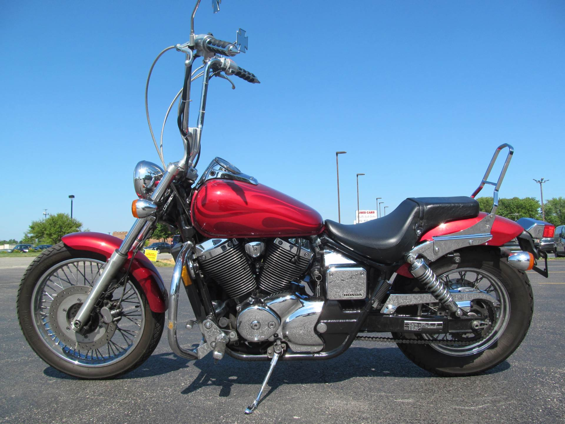 2003 Honda Shadow Spirit 750 in Crystal Lake, Illinois - Photo 2