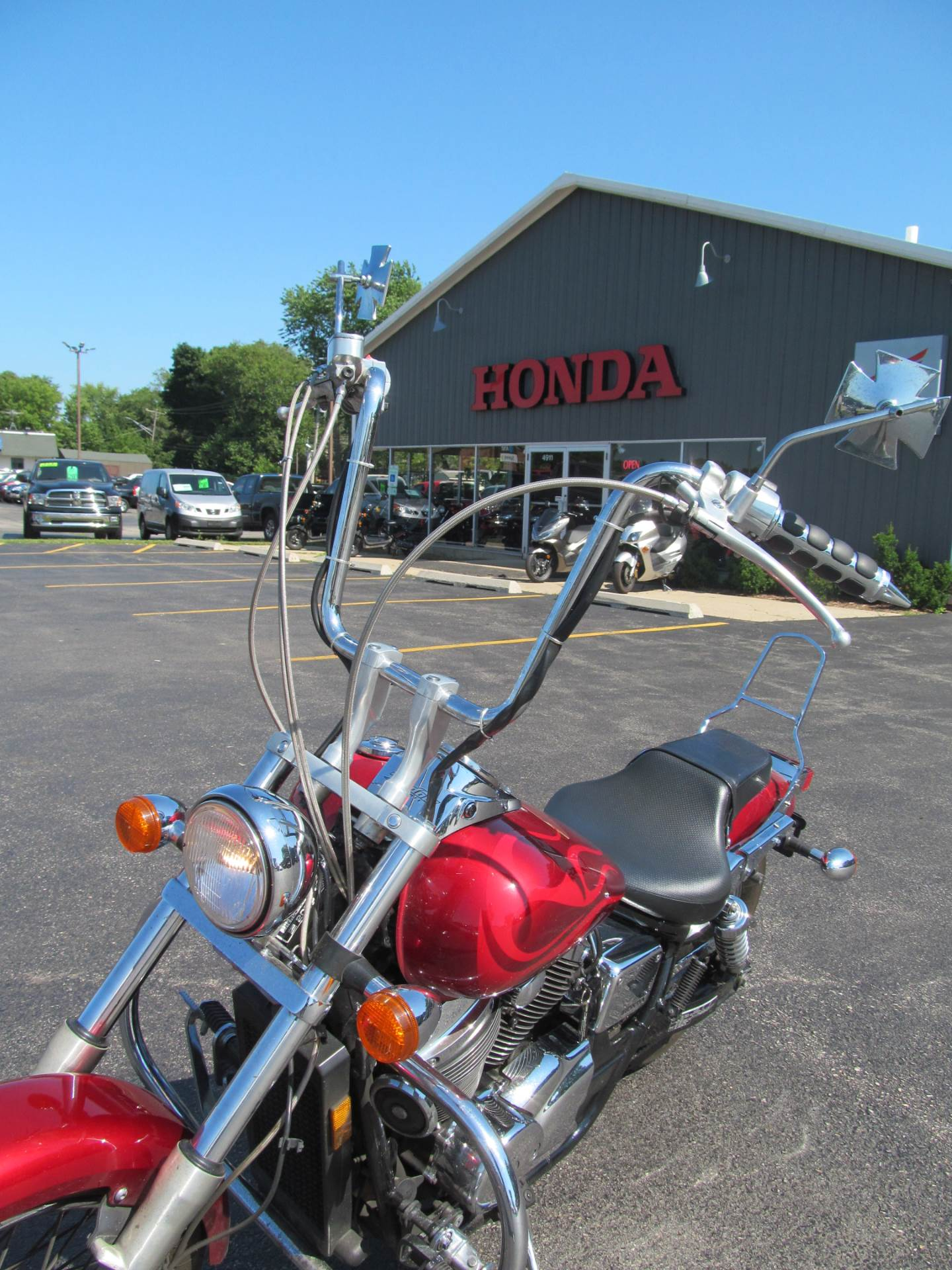 2003 Honda Shadow Spirit 750 in Crystal Lake, Illinois - Photo 9