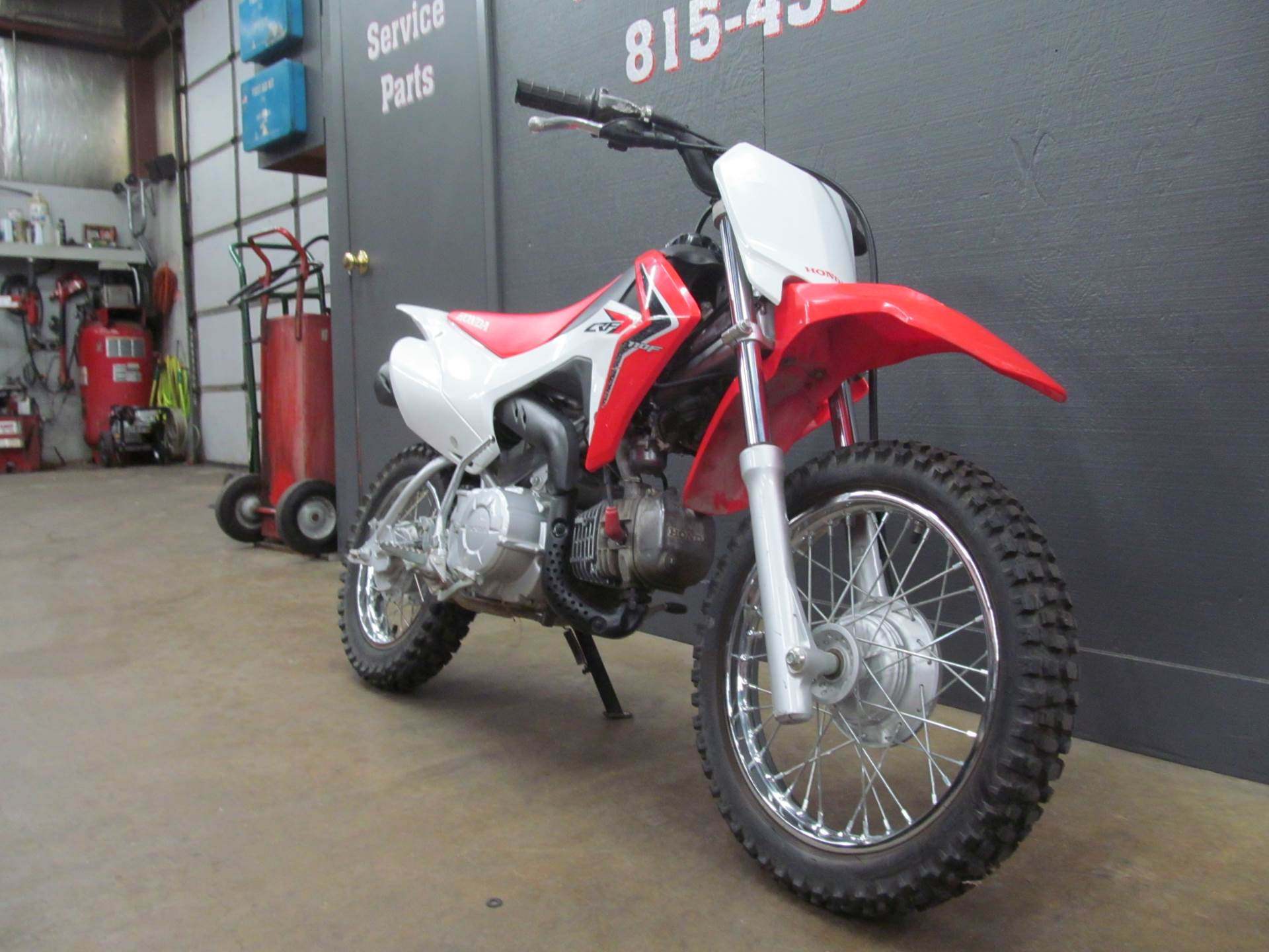 2015 Honda CRF110F in Crystal Lake, Illinois - Photo 3