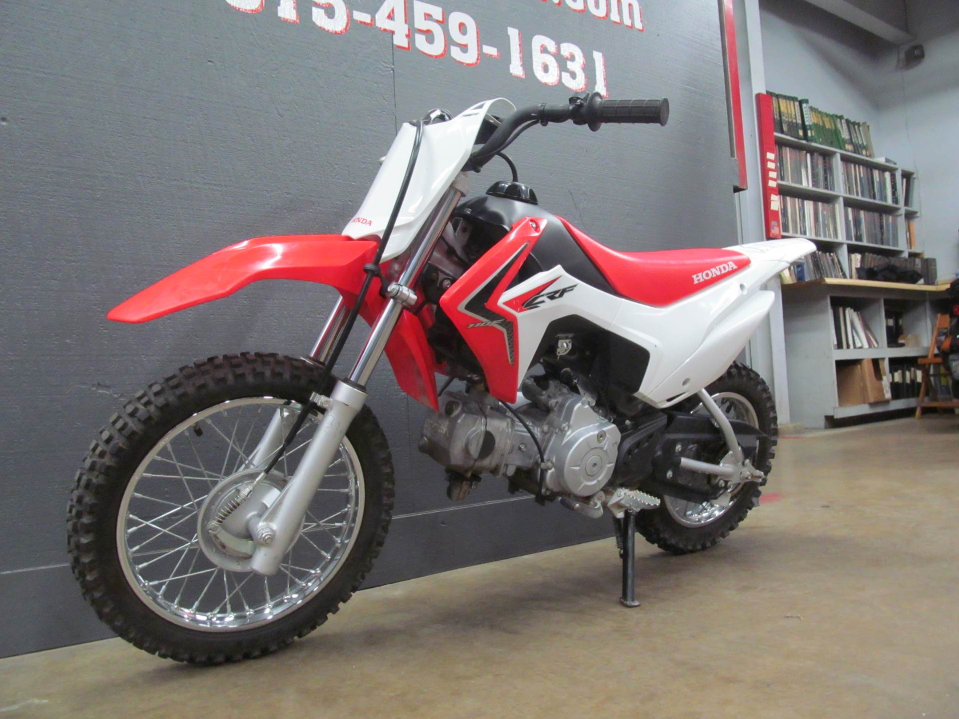 2015 Honda CRF110F in Crystal Lake, Illinois - Photo 4