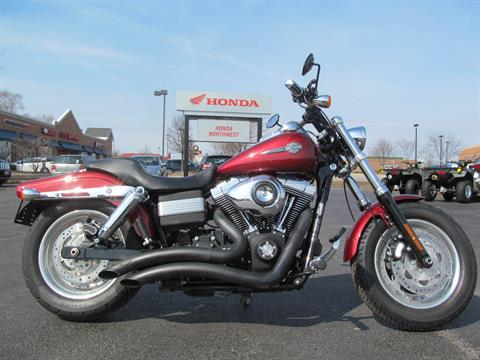 2010 Harley-Davidson Dyna® Fat Bob® in Crystal Lake, Illinois
