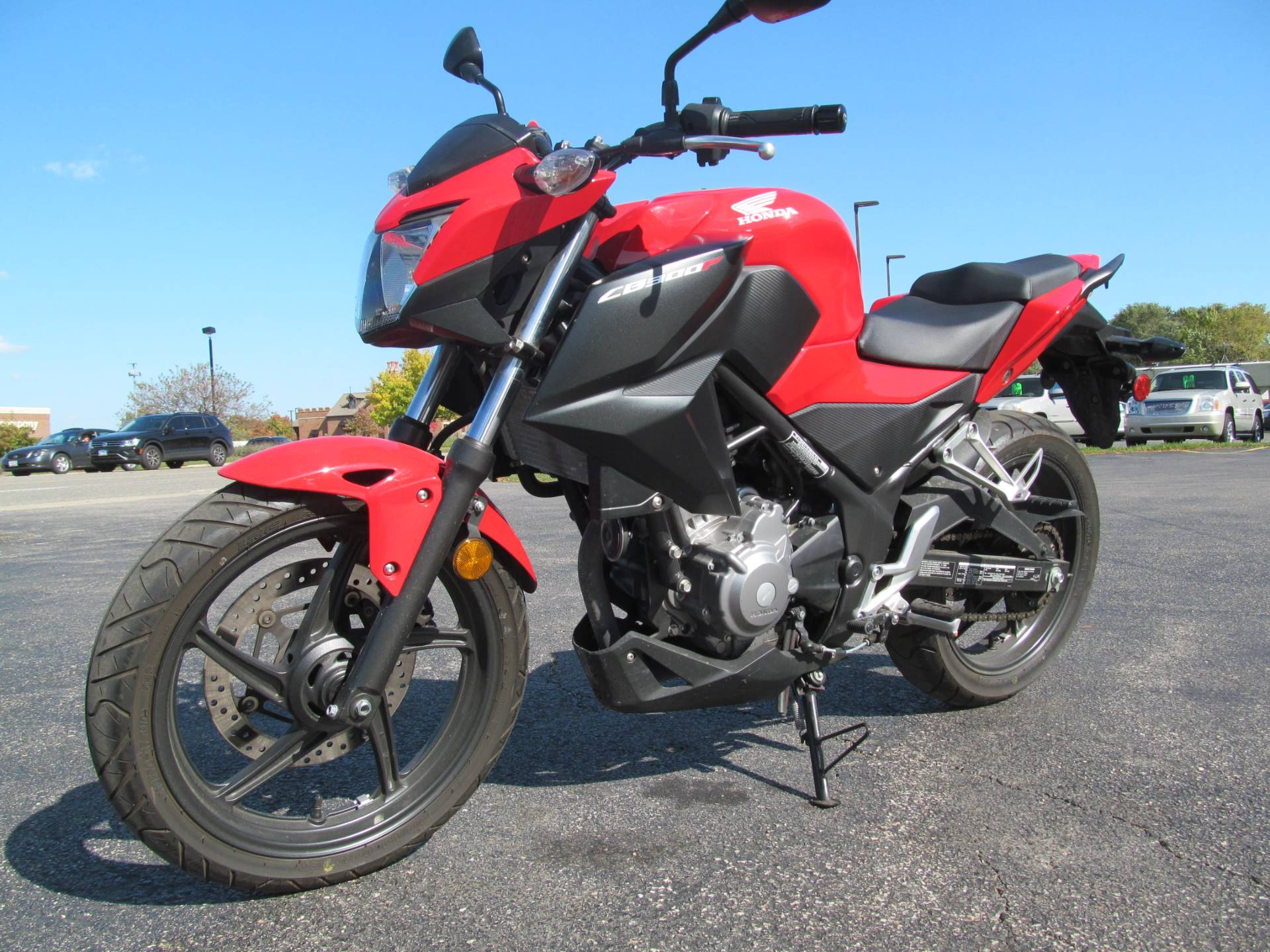2015 Honda CB300F in Crystal Lake, Illinois - Photo 3