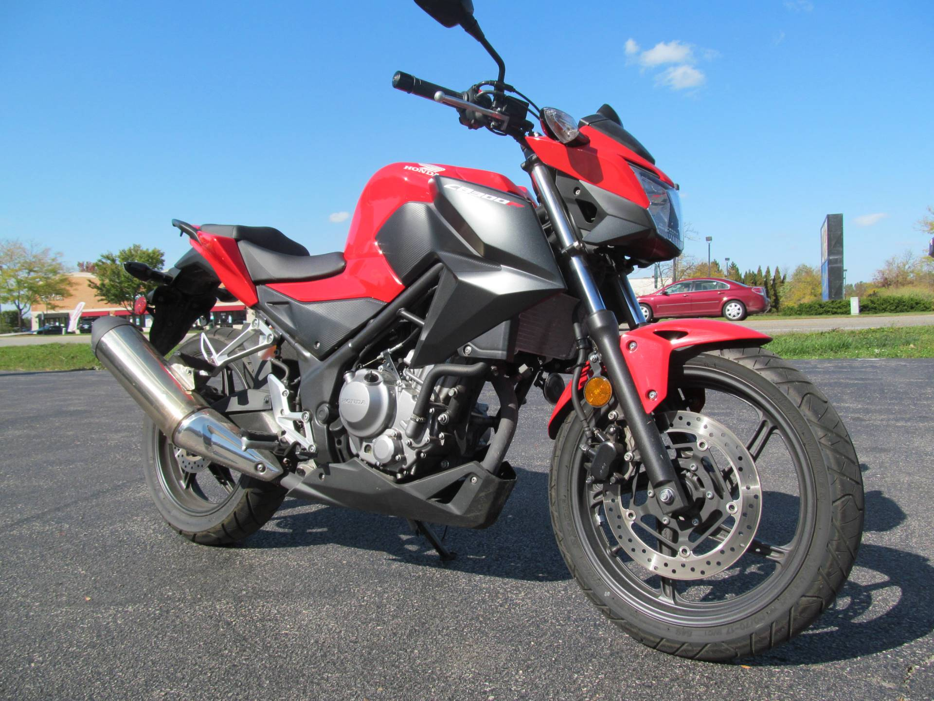 2015 Honda CB300F in Crystal Lake, Illinois - Photo 4