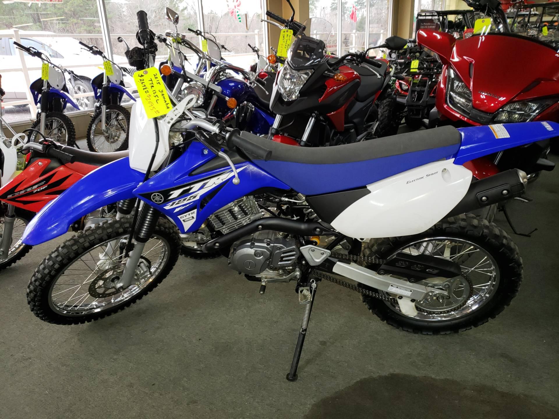2015 Yamaha TT-R125LE 1