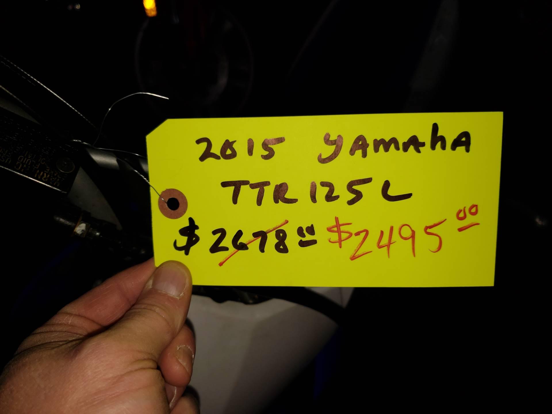 2015 Yamaha TT-R125LE 4