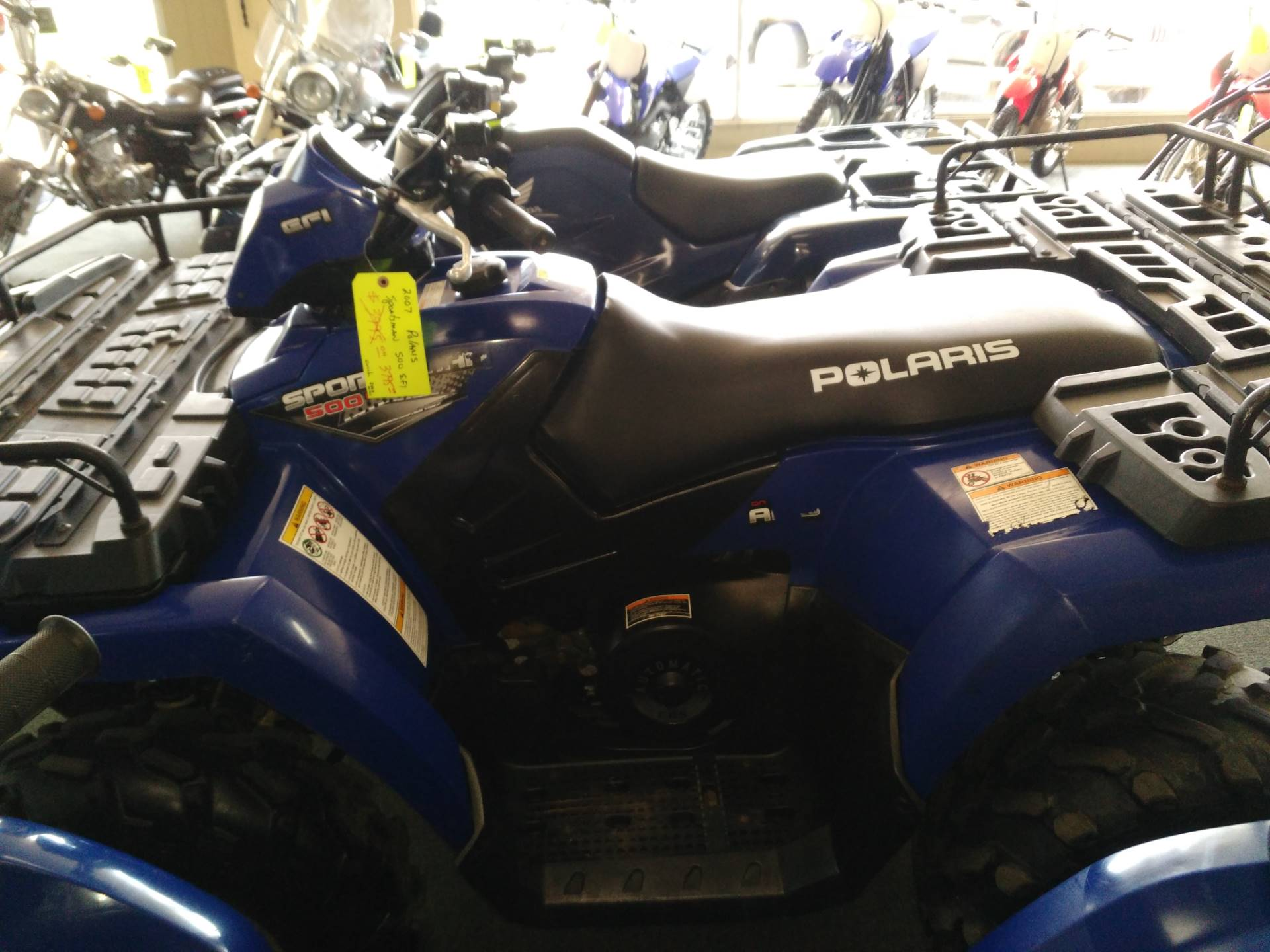 2007 Polaris Sportsman 500 EFI in Jasper, Alabama