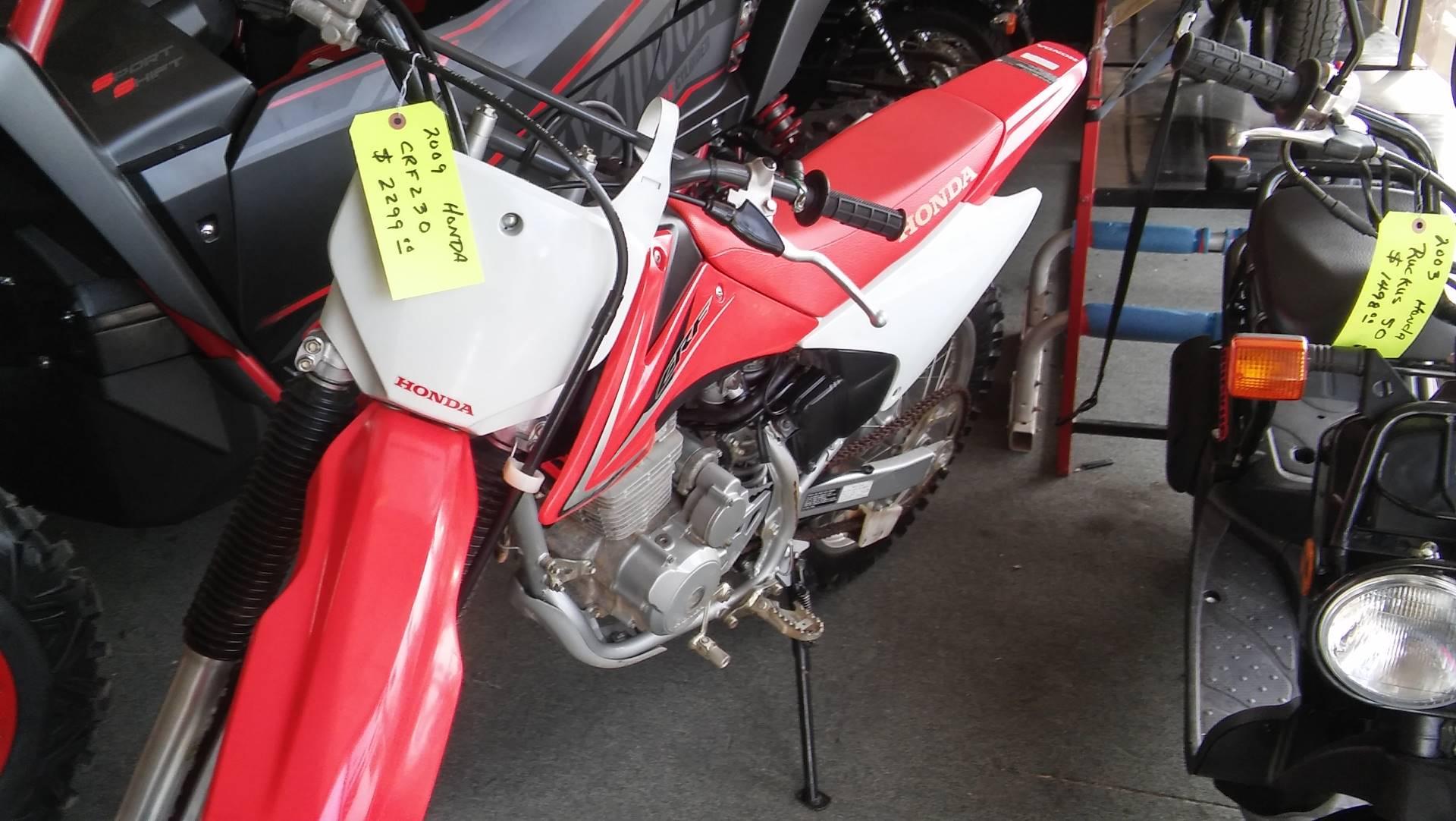 2009 Honda CRF230F 2