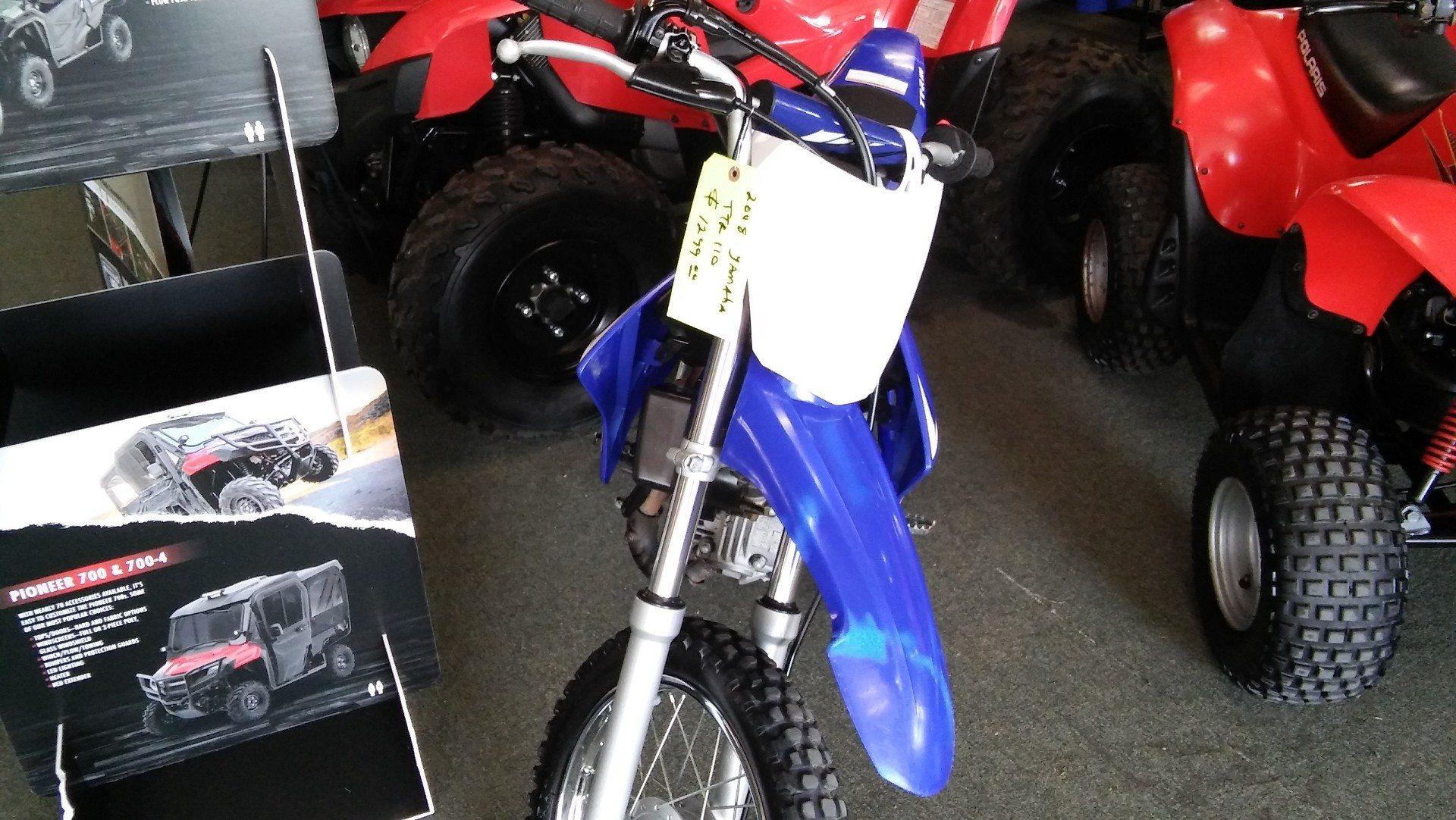 2008 Yamaha TTR110E for sale 107097