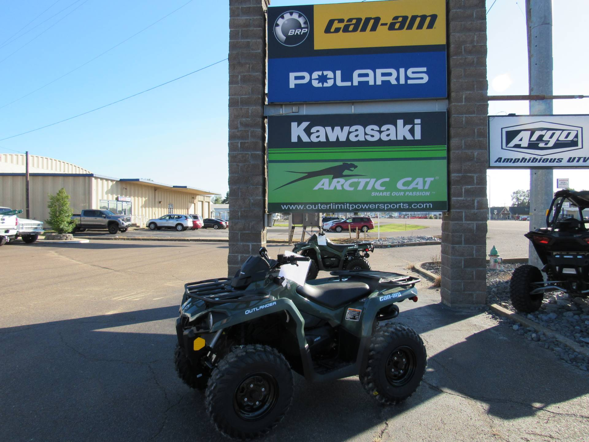 2021 Can-Am Outlander 450 in Dyersburg, Tennessee - Photo 1
