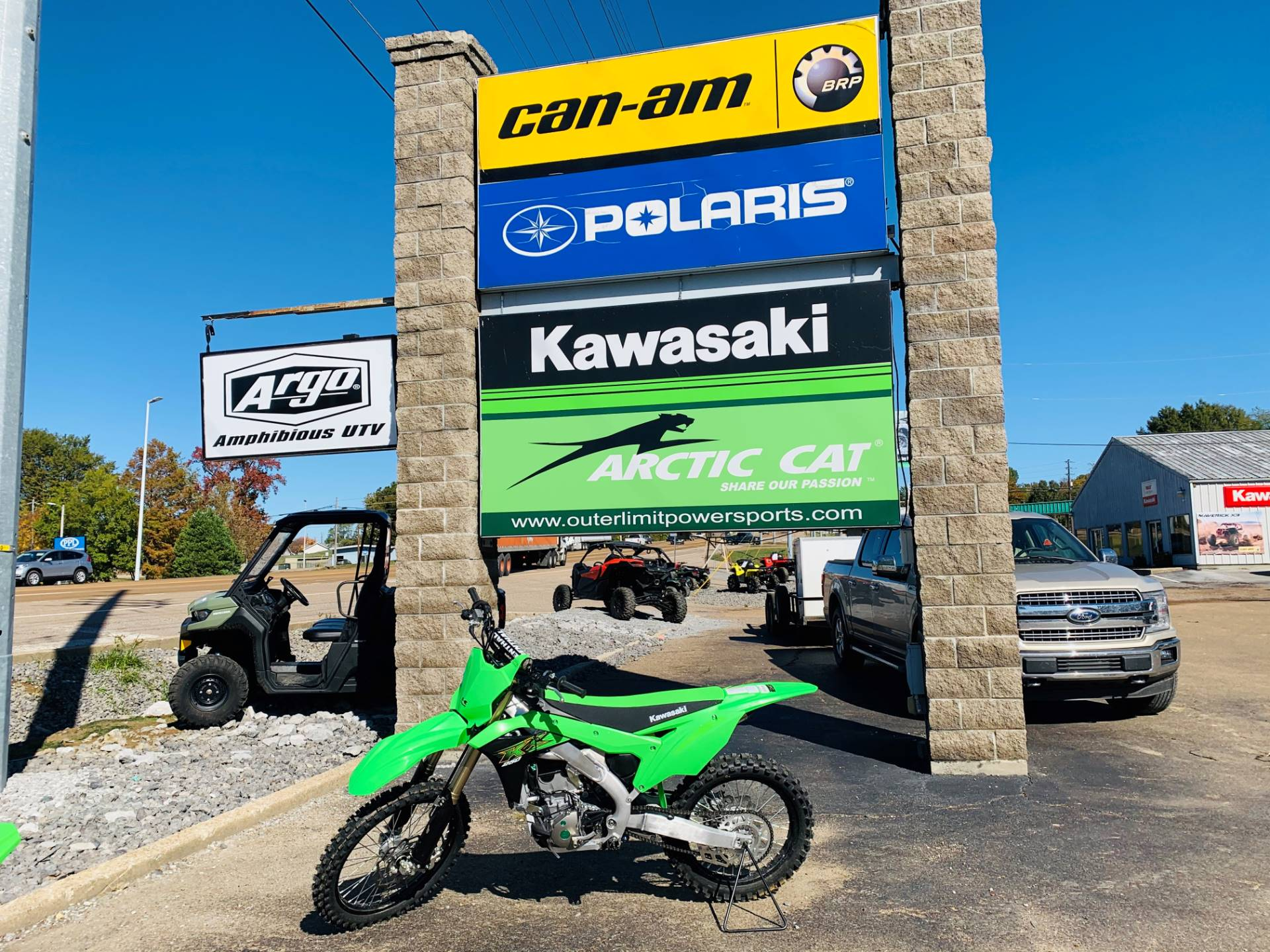 2020 Kawasaki KX 250 in Dyersburg, Tennessee - Photo 1