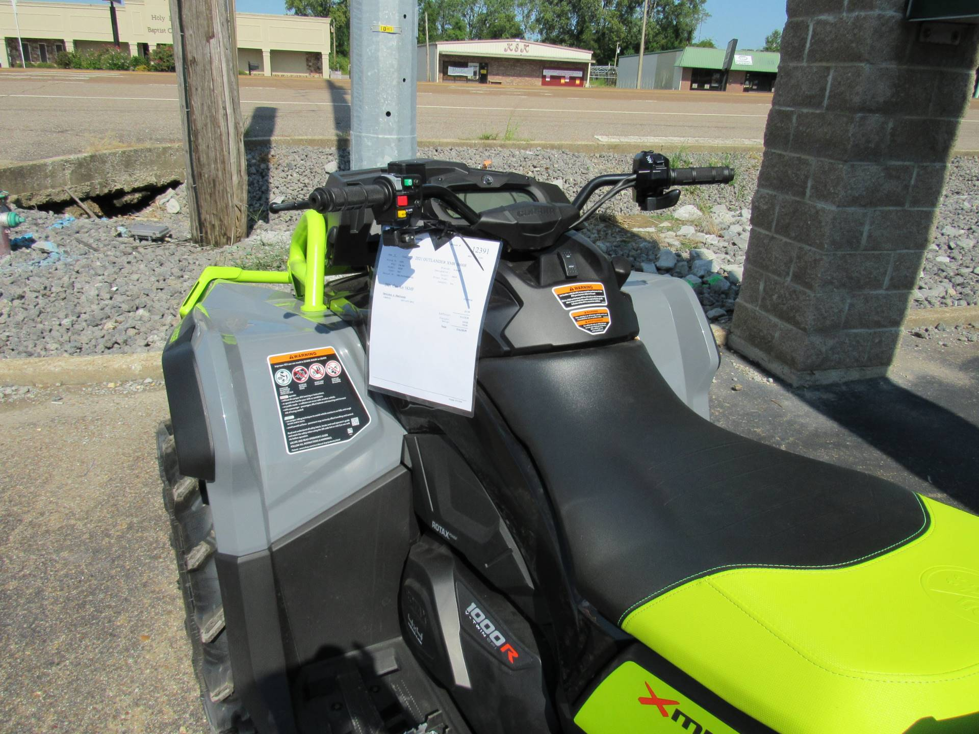 2021 Can-Am Outlander X MR 1000R in Dyersburg, Tennessee - Photo 7