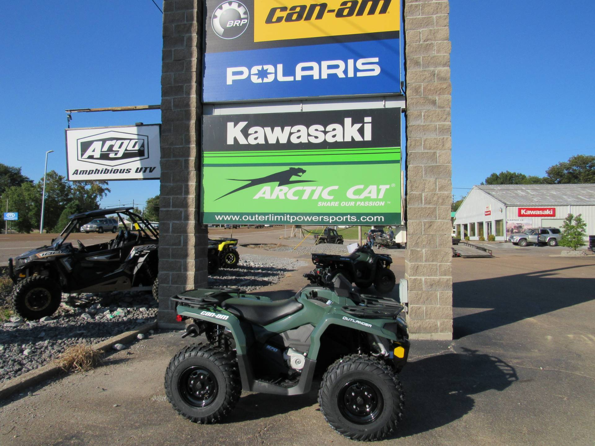 2021 Can-Am Outlander 570 in Dyersburg, Tennessee - Photo 1