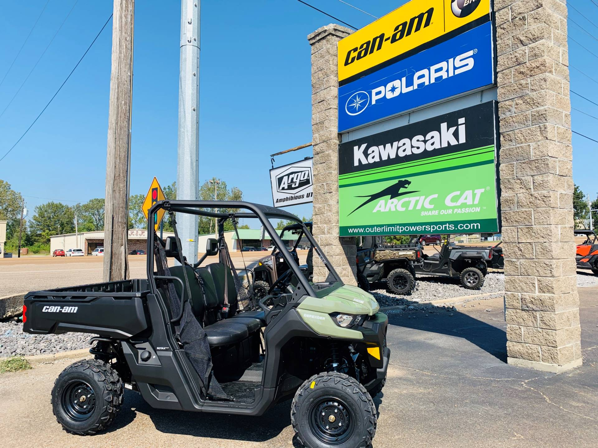 2020 Can-Am Defender HD5 in Dyersburg, Tennessee - Photo 1