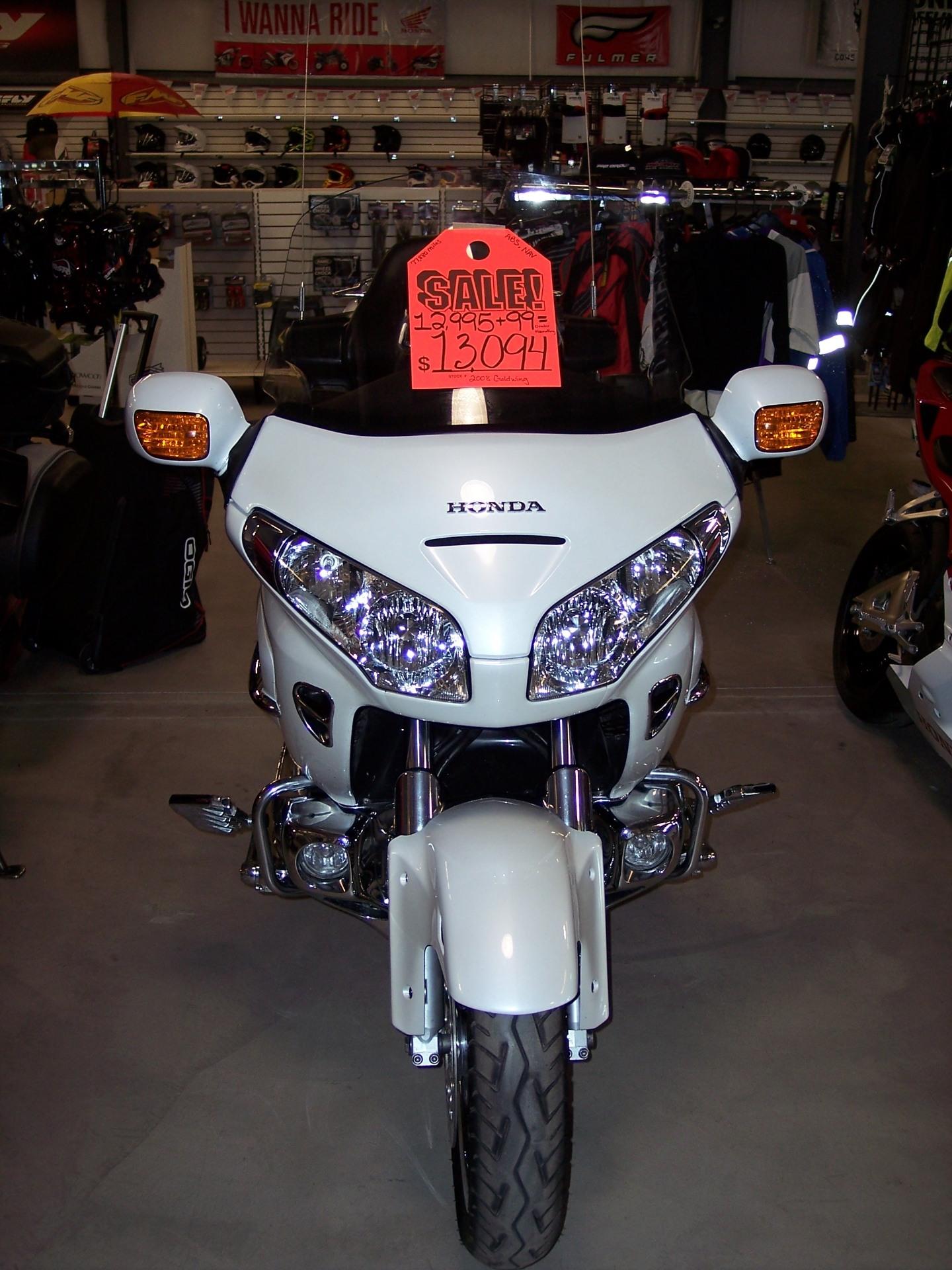2008 Honda Gold Wing® Airbag in Pueblo, Colorado