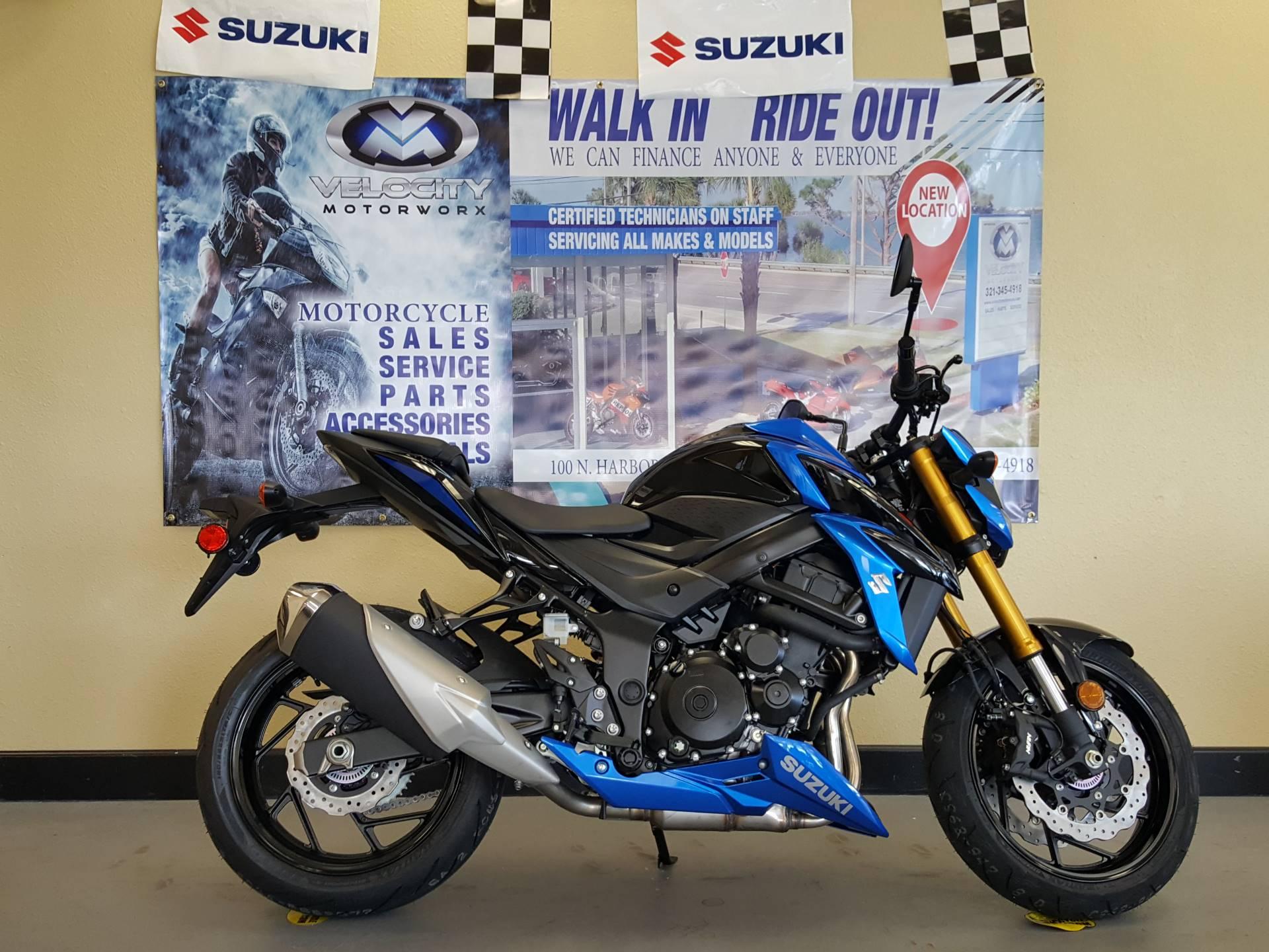 New 2018 Suzuki Gsx S750l8 Motorcycles In Melbourne Fl Stock