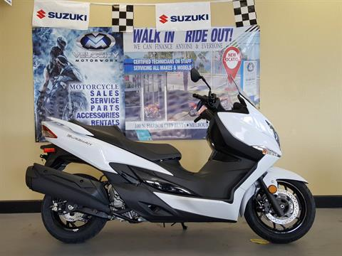 2018 Suzuki Burgman 400 ABS in Melbourne, Florida