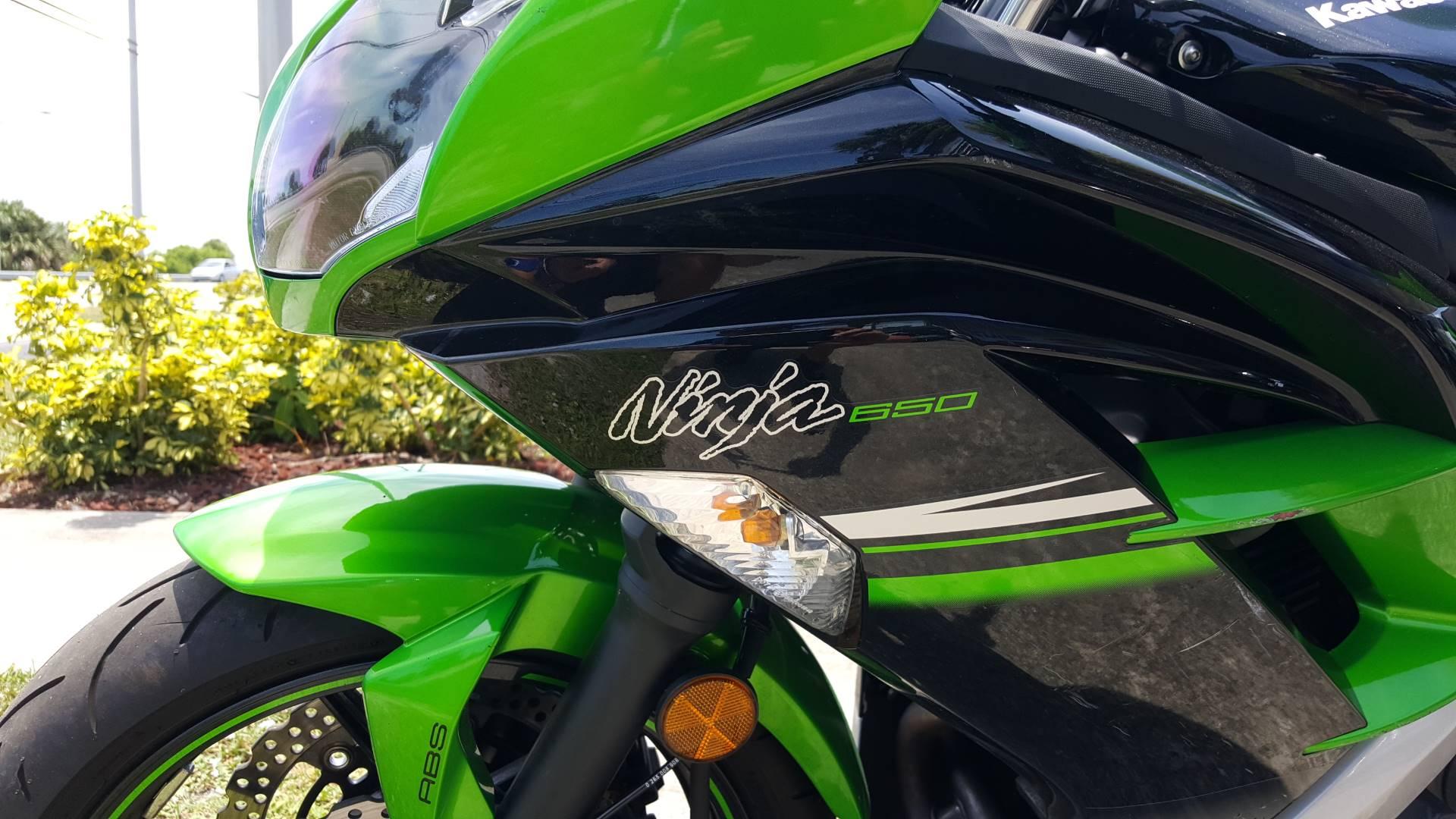 2016 Kawasaki Ninja 650 5