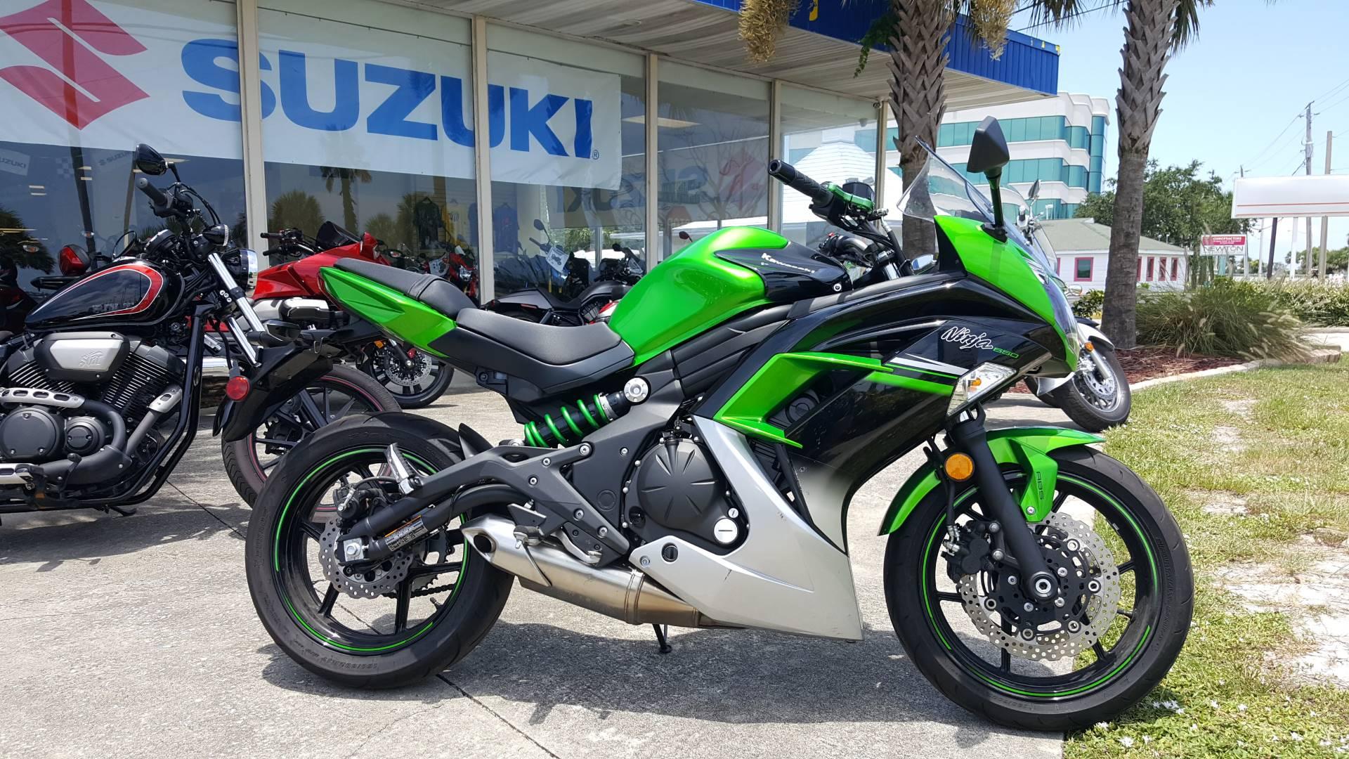 2016 Kawasaki Ninja 650 7