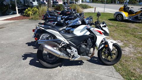 2014 Honda CB500F in Melbourne, Florida