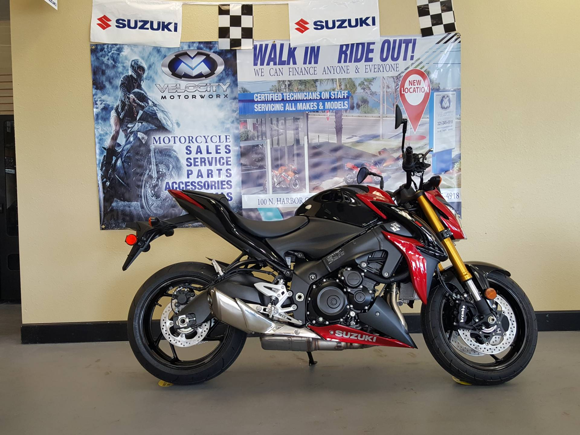 2017 Suzuki GSX-S1000 in Melbourne, Florida