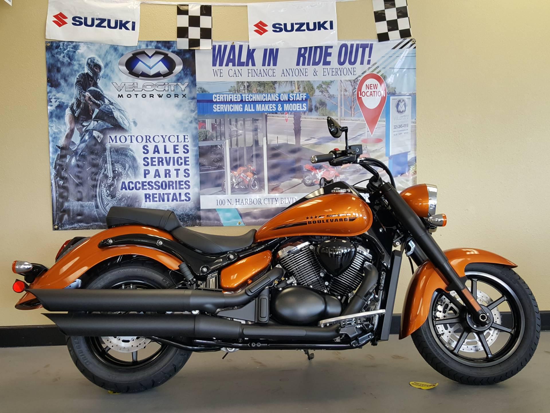 New 2017 Suzuki Boulevard C90 B.O.S.S. Motorcycles in Melbourne, FL ...