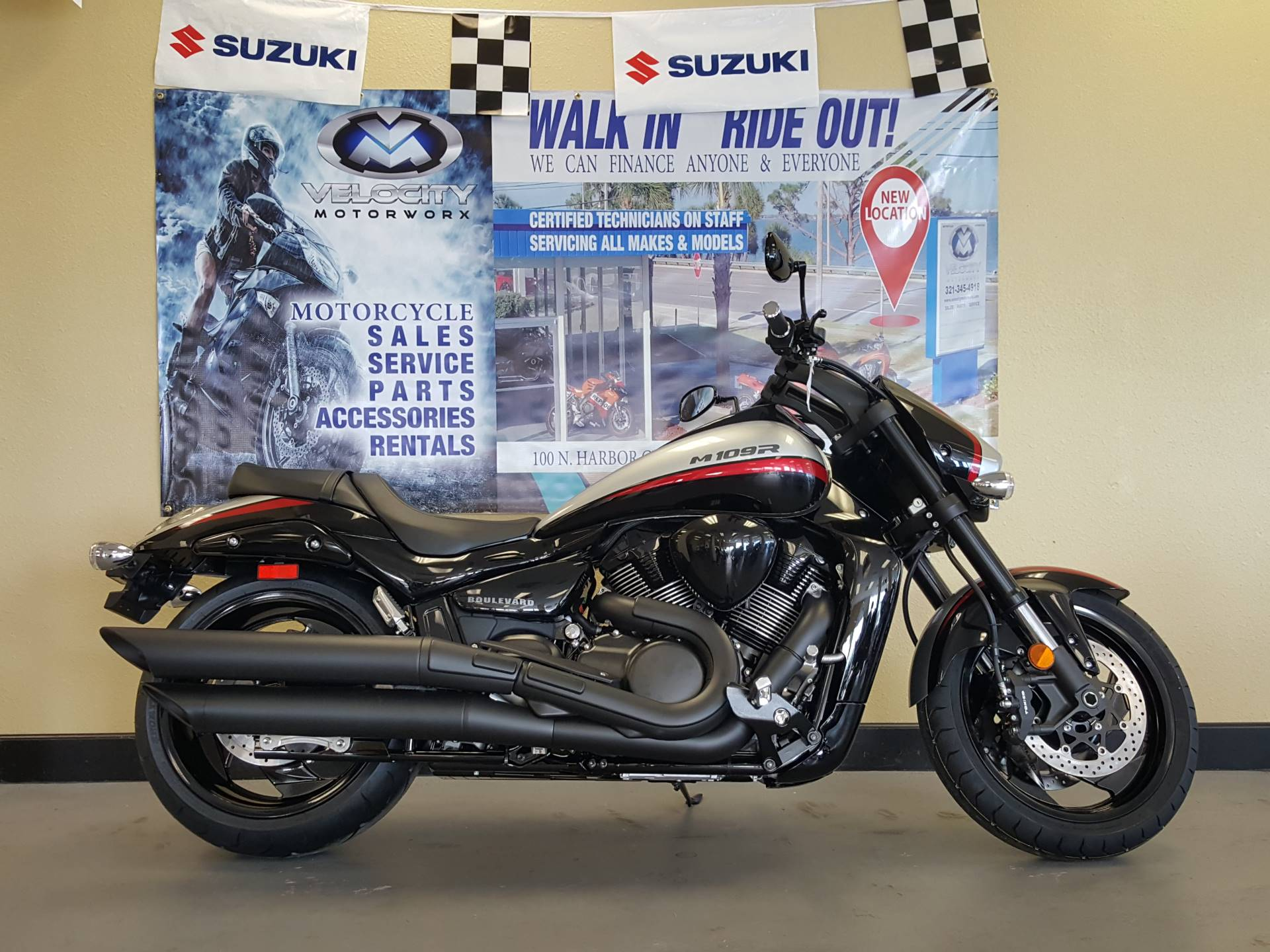 New 2018 Suzuki Boulevard M109R B.O.S.S. Motorcycles in Melbourne ...