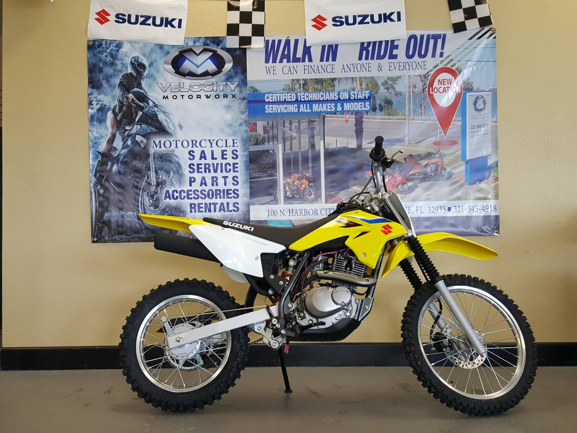 2018 Suzuki DR-Z125L in Melbourne, Florida