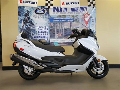 2018 Suzuki Burgman 650 Executive in Melbourne, Florida