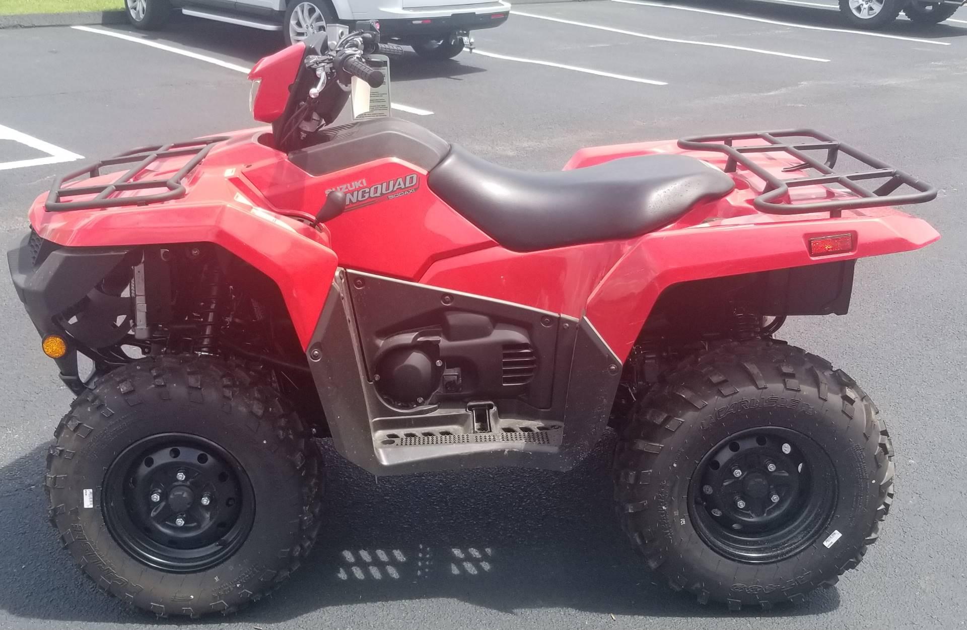 New 2019 Suzuki KingQuad 500AXi | ATVs in Statesboro GA