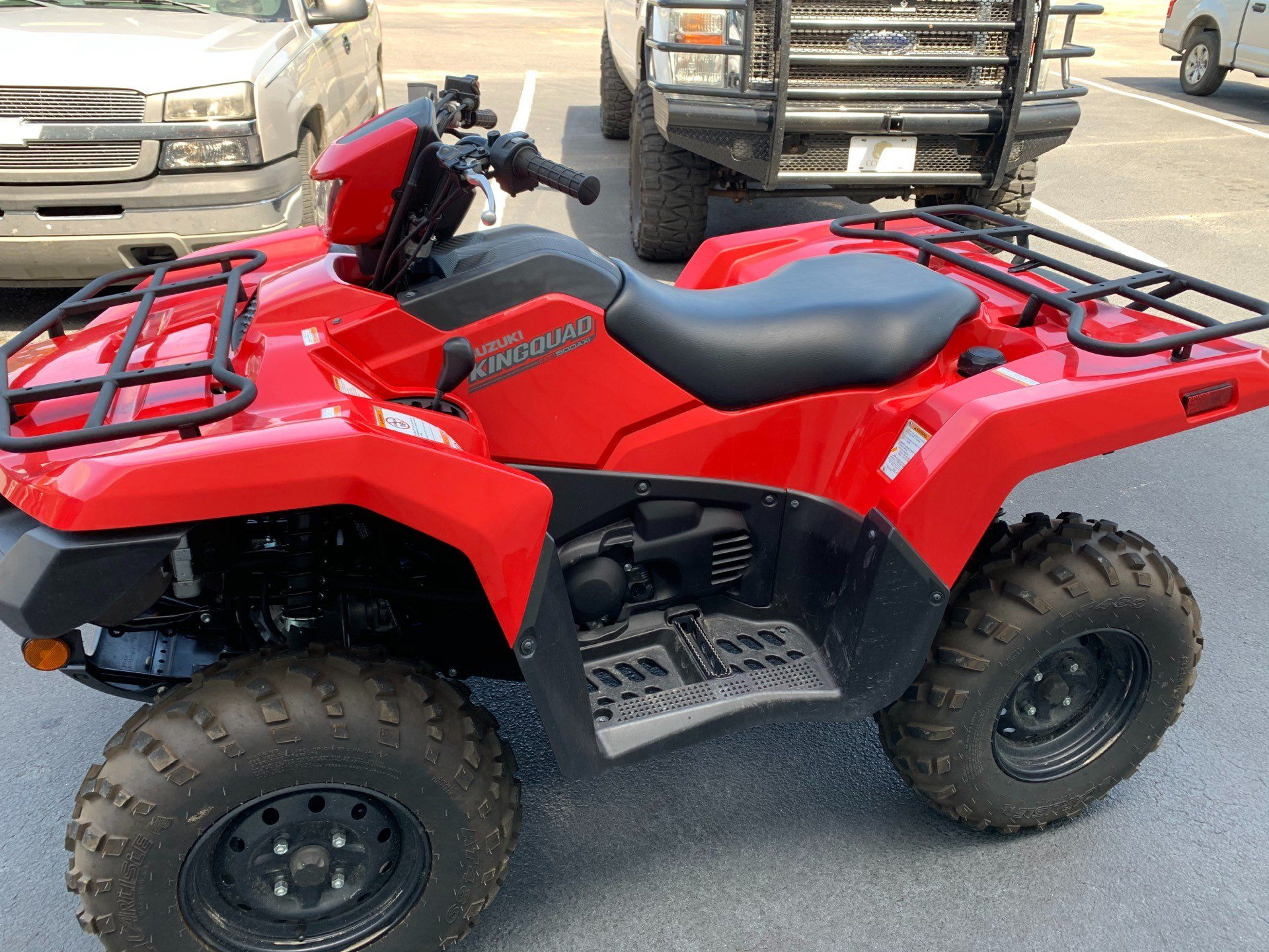 2019 Suzuki KingQuad 500AXi in Statesboro, Georgia - Photo 3