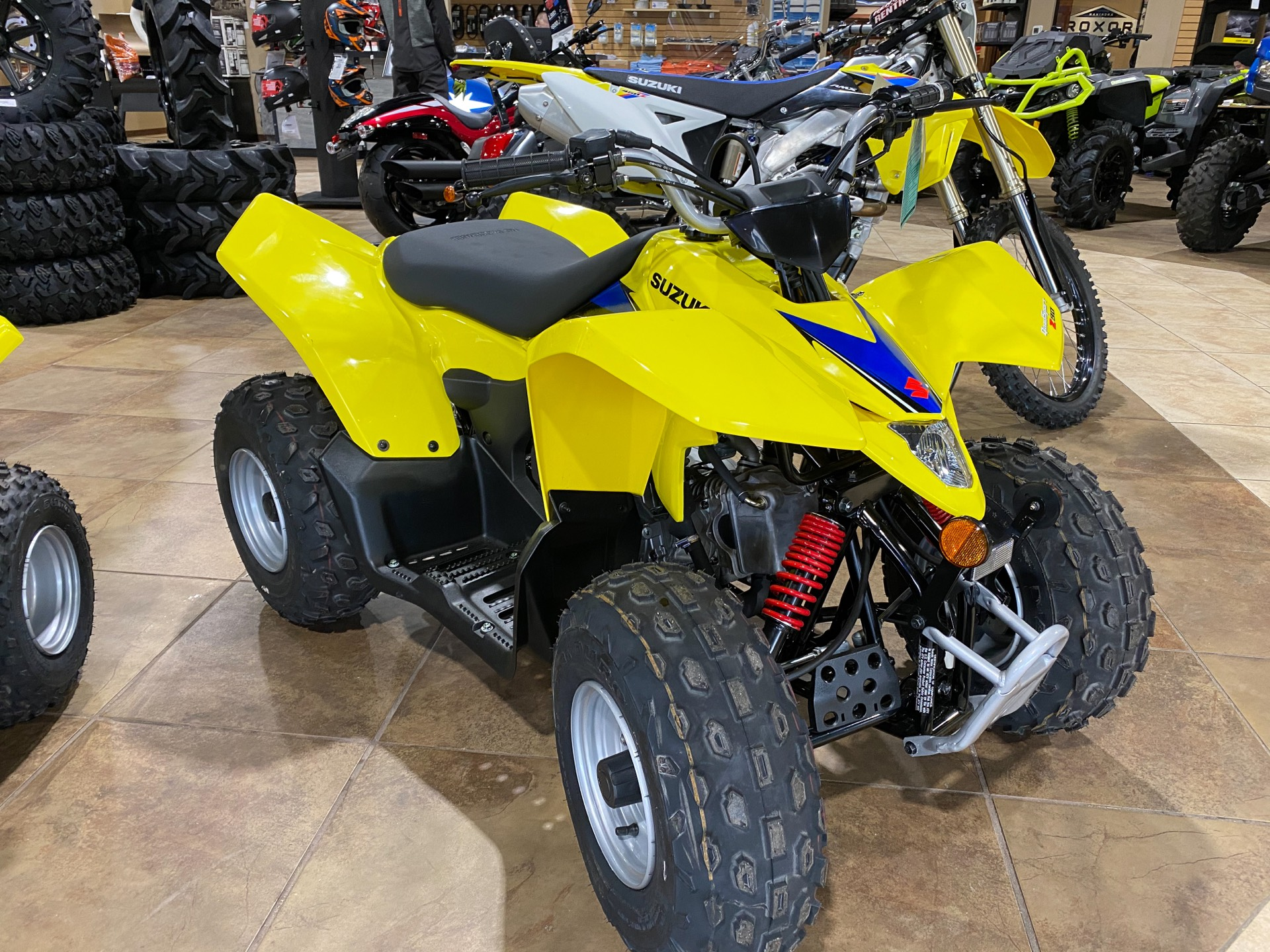 2021 Suzuki QuadSport Z90 in Statesboro, Georgia - Photo 2