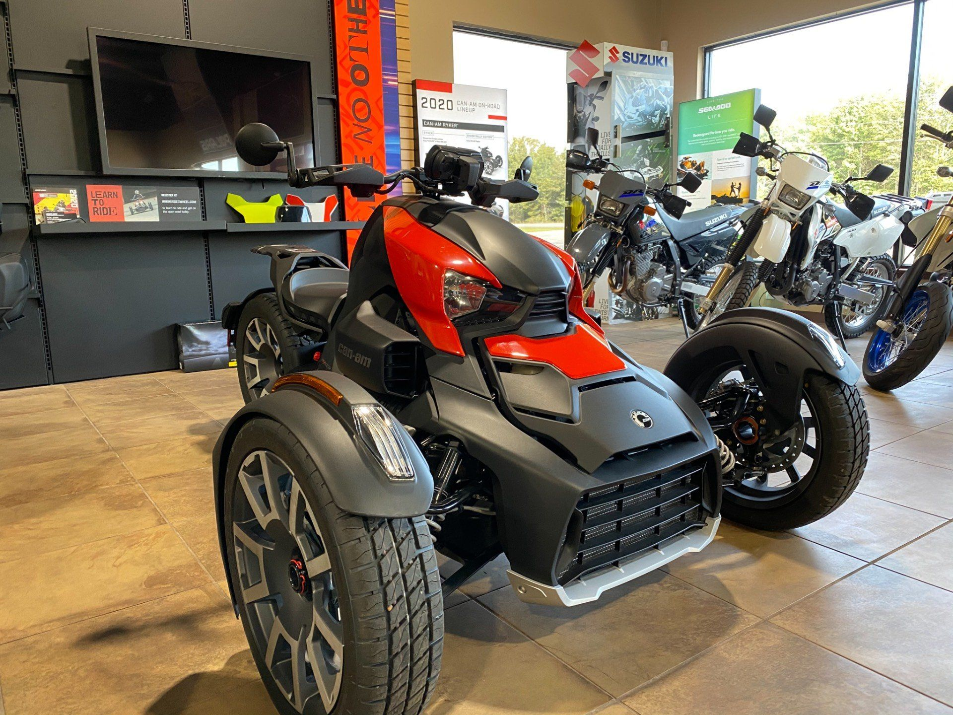 2020 Can-Am RYKER 900 RALLY ACE in Statesboro, Georgia - Photo 1