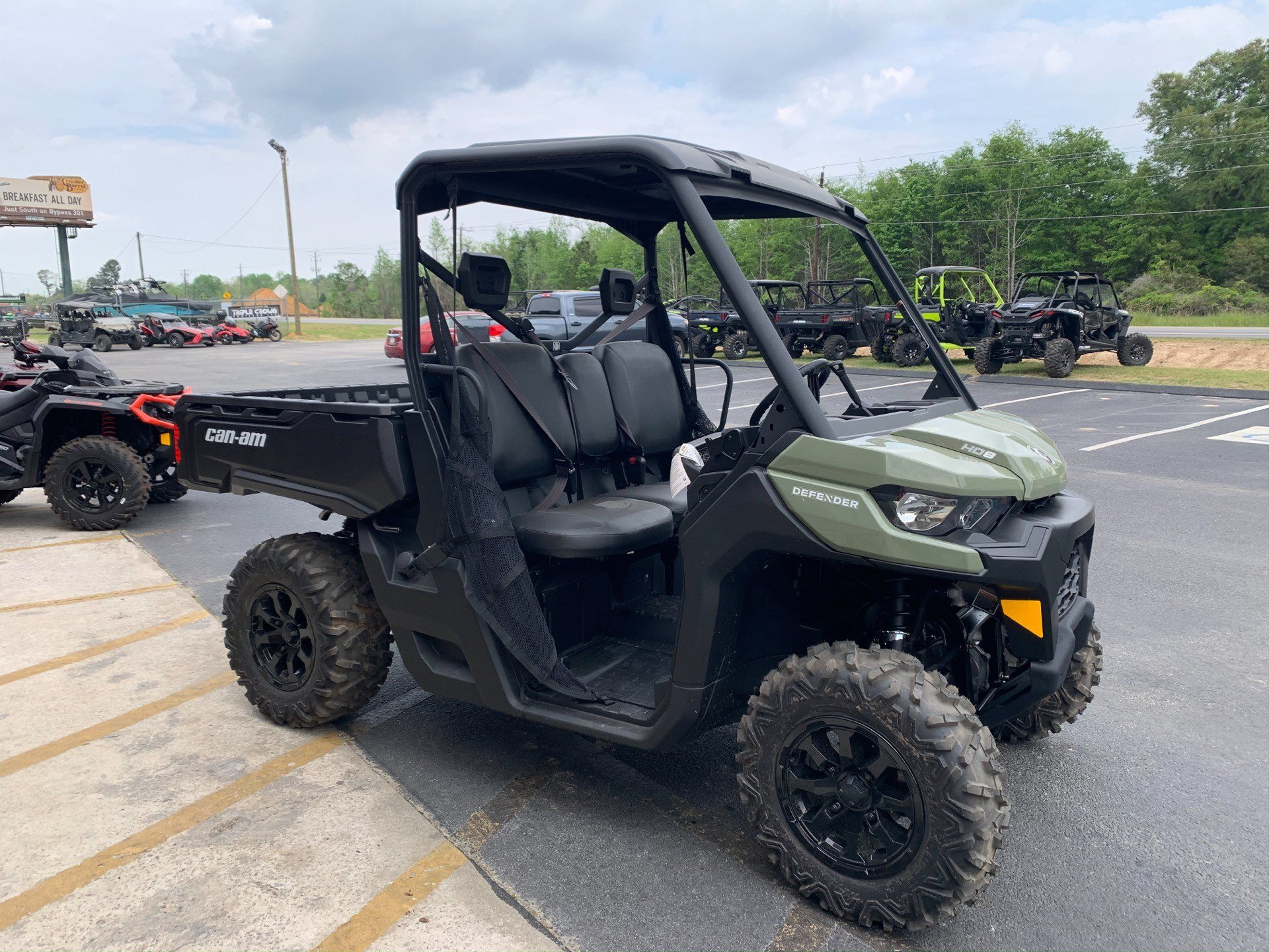2020 Can-Am Defender DPS HD8 in Statesboro, Georgia - Photo 3