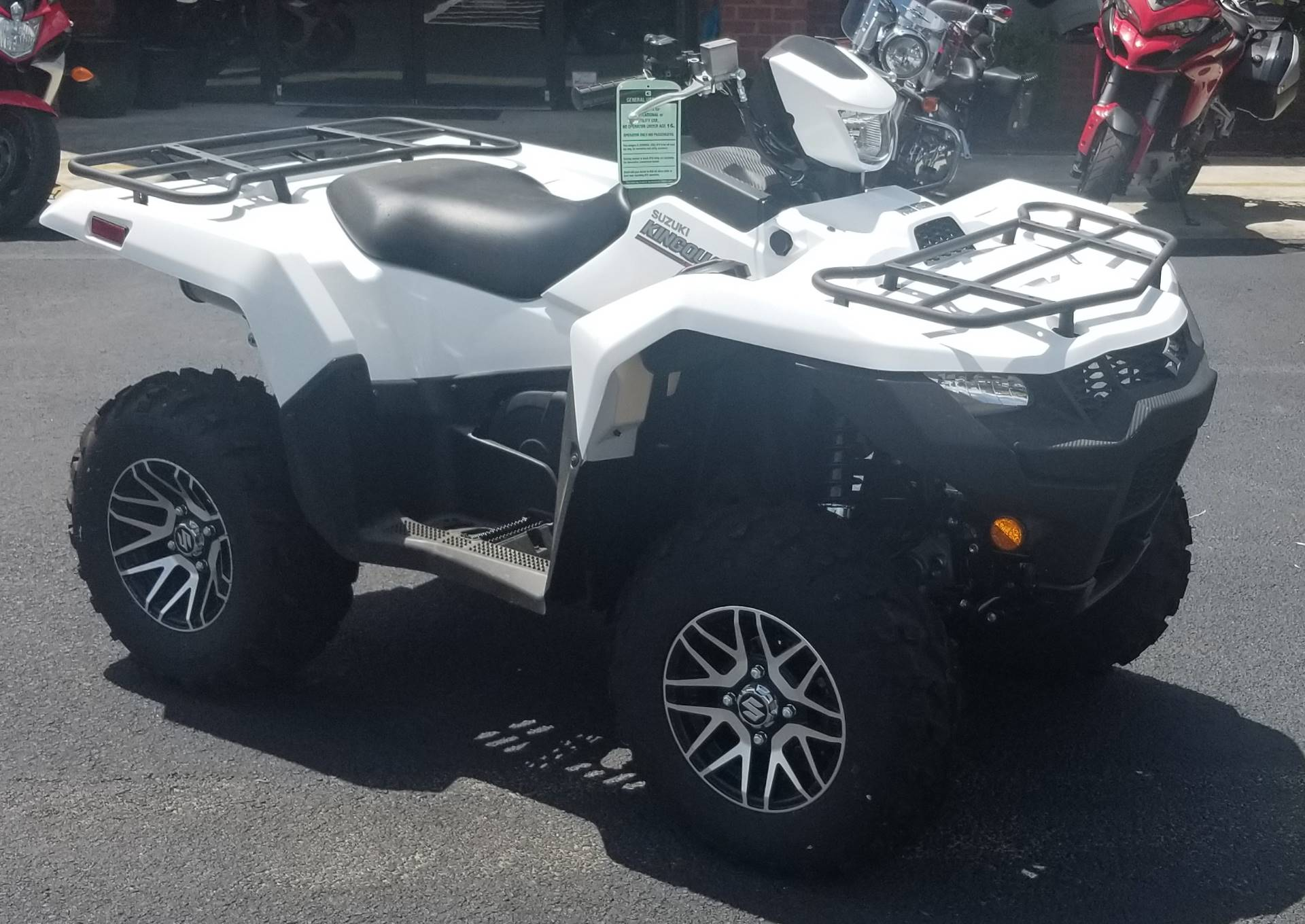 2019 Suzuki KingQuad 500AXi Power Steering SE in Statesboro, Georgia - Photo 1