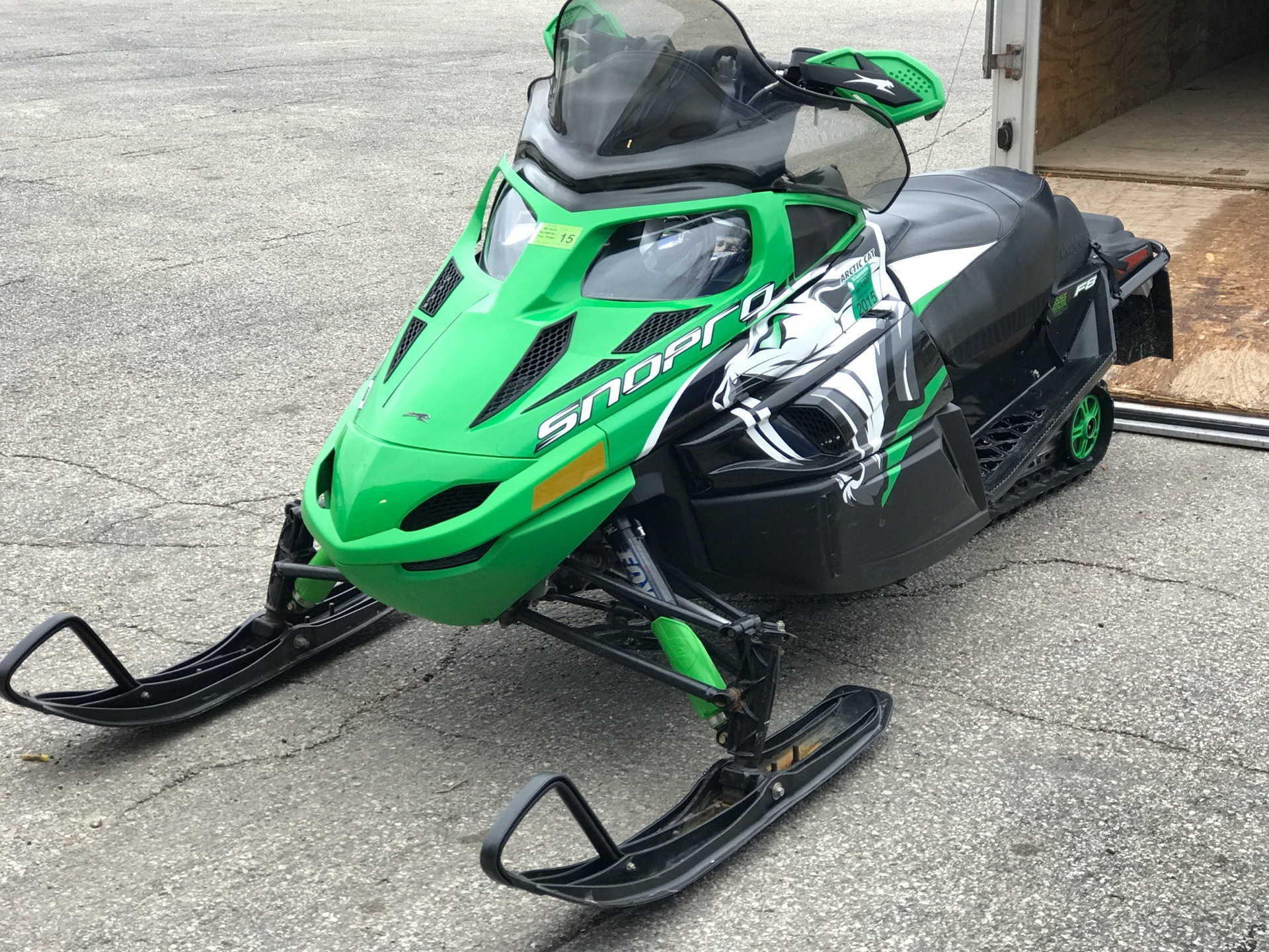2010 Arctic Cat F8 H.O. Sno Pro® in Edgerton, Wisconsin - Photo 1