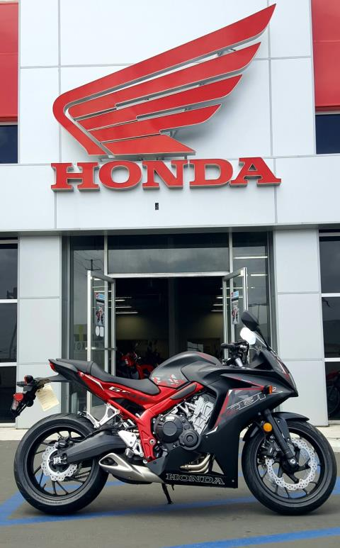2016 Honda CBR650F ABS in Carson, California