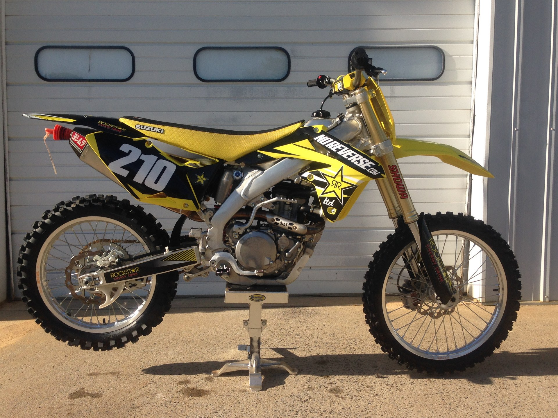 2014 Suzuki RM-Z450 in Sanford, North Carolina - Photo 1