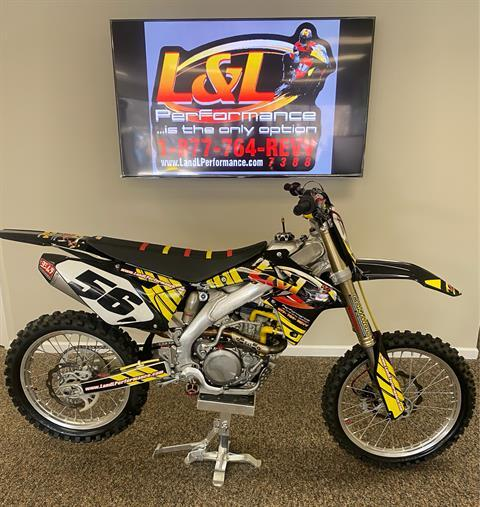2014 Suzuki RM-Z450 in Cary, North Carolina