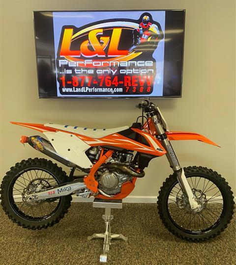 2018 KTM 450 SX-F in Cary, North Carolina - Photo 1