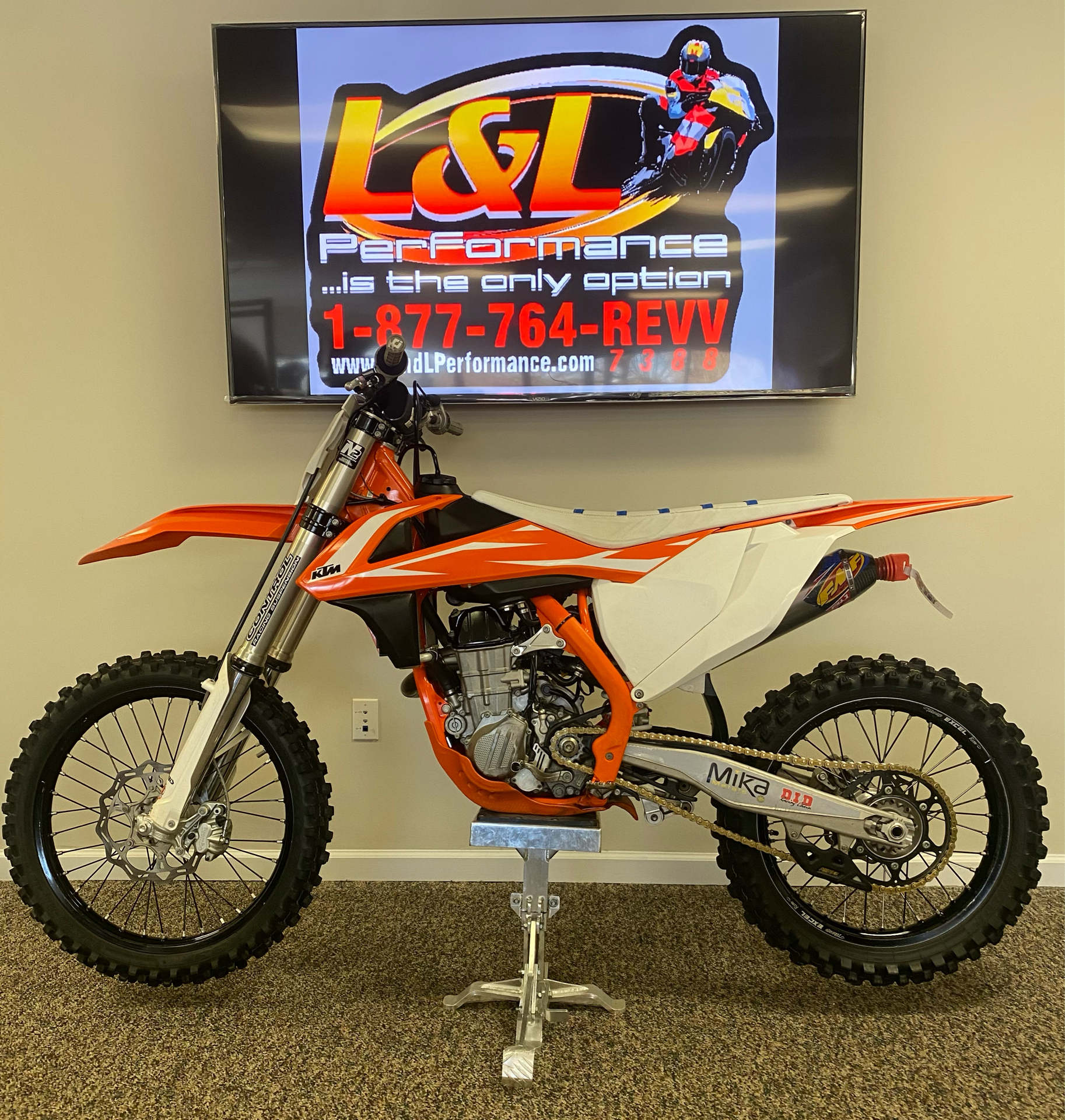 2018 KTM 450 SX-F in Cary, North Carolina - Photo 3