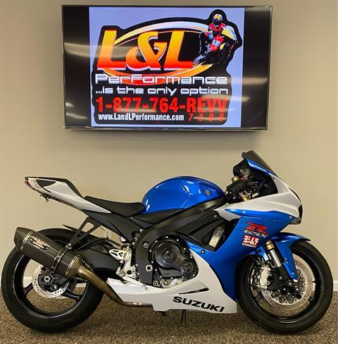 2013 Suzuki GSX-R750™ in Cary, North Carolina