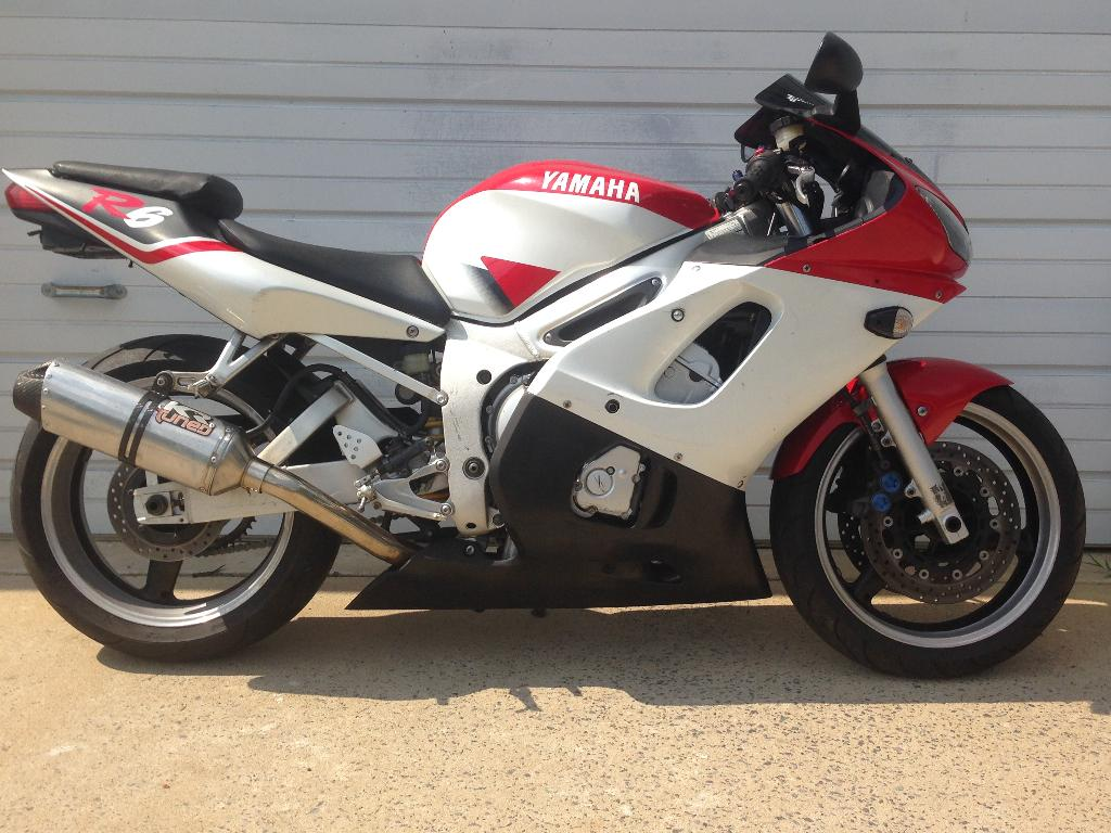 2000 Yamaha YZF-R6 for sale 45527