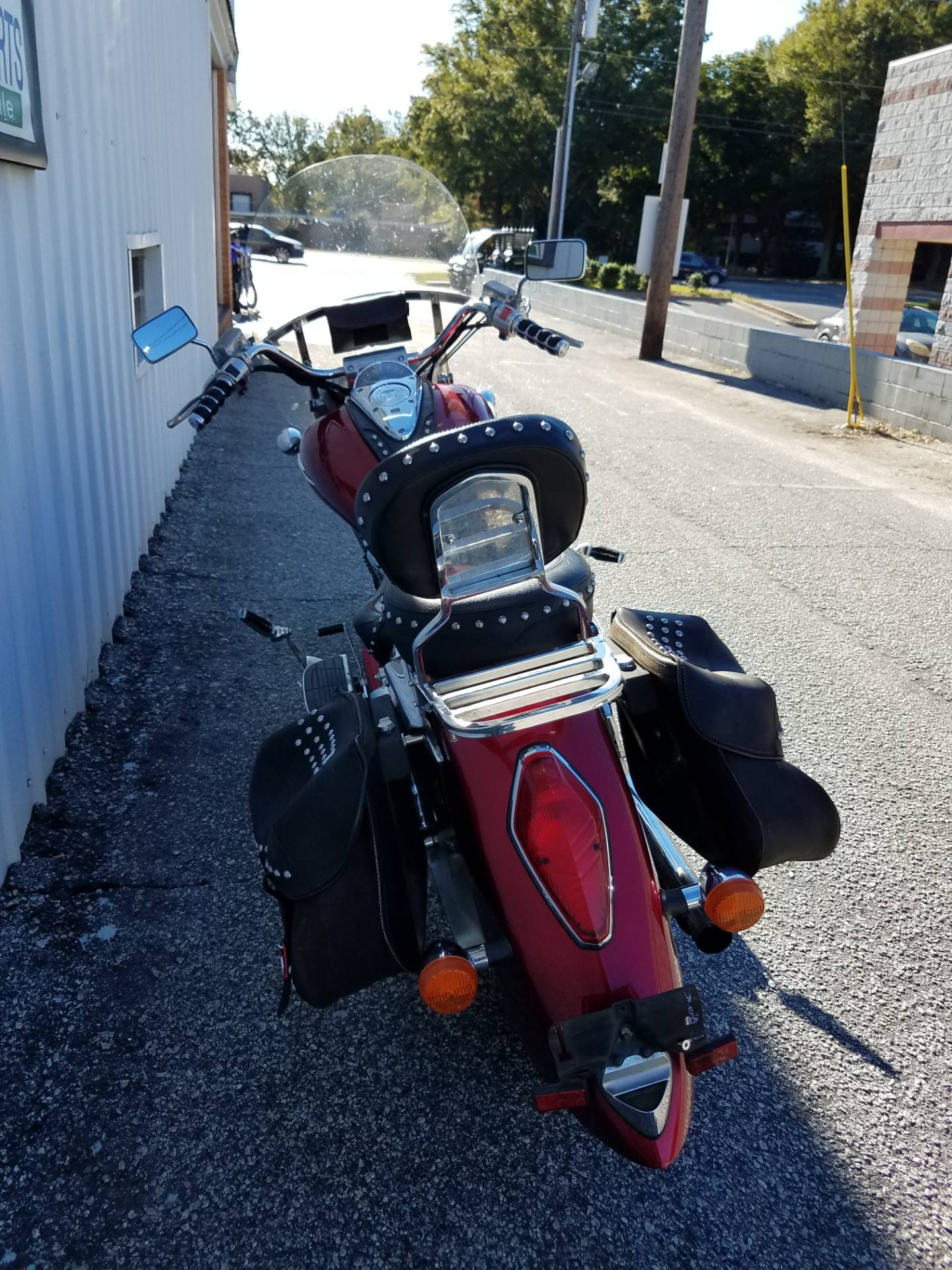 2003 Honda VTX Retro 1800 Spoke 5